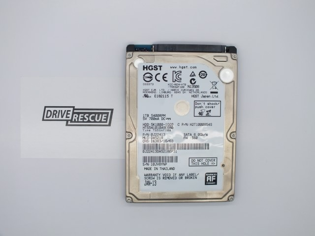 1tb hgst disk data recovery ireland