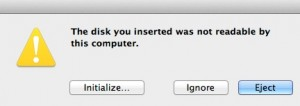recover from bad sectors on apple mac disk drive