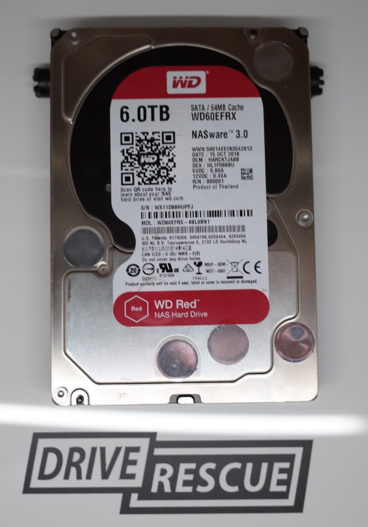 Western Digital My Cloud Solid Red Light - Cloud Images